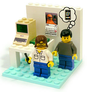 Young Woz and Jobs Playset