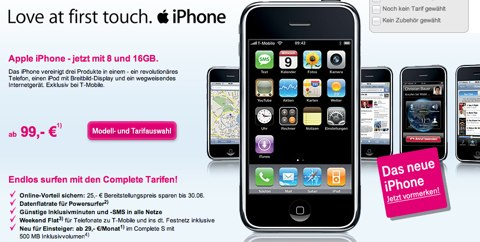 iPhone 3G T-Mobile