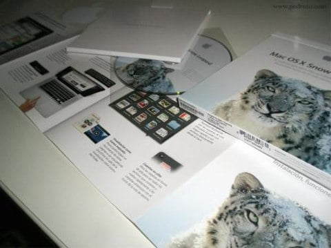Snow Leopard unpackging