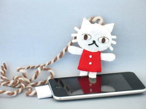 telecomando gatto iPod Touch