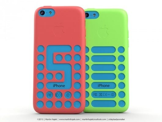 iPhone 5C custodie 3D