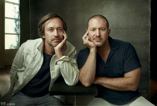 Jony Ive e Marc Newson