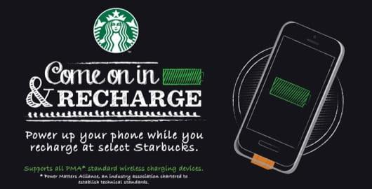 Starbucks Powermat