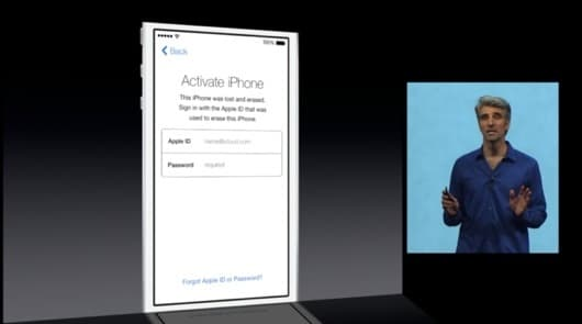Activation Lock iOS
