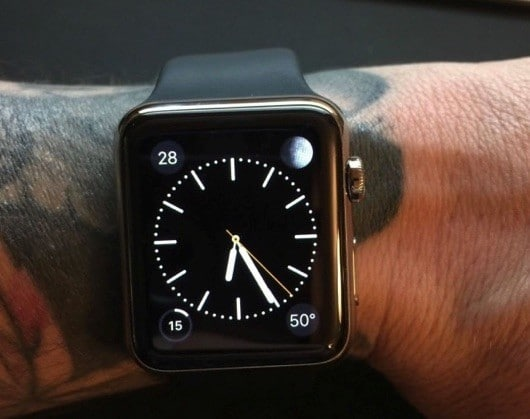 Apple Watch tatuaggi