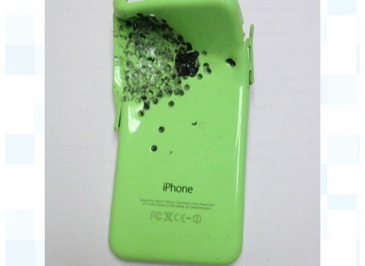 iPhone 5C fucile