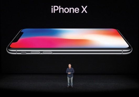 Keynote iPhone X