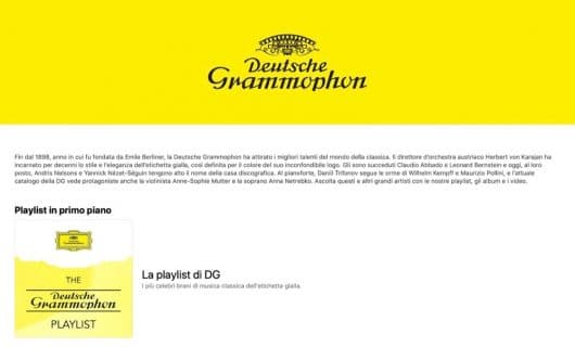 Apple Music Deutsche Grammophon
