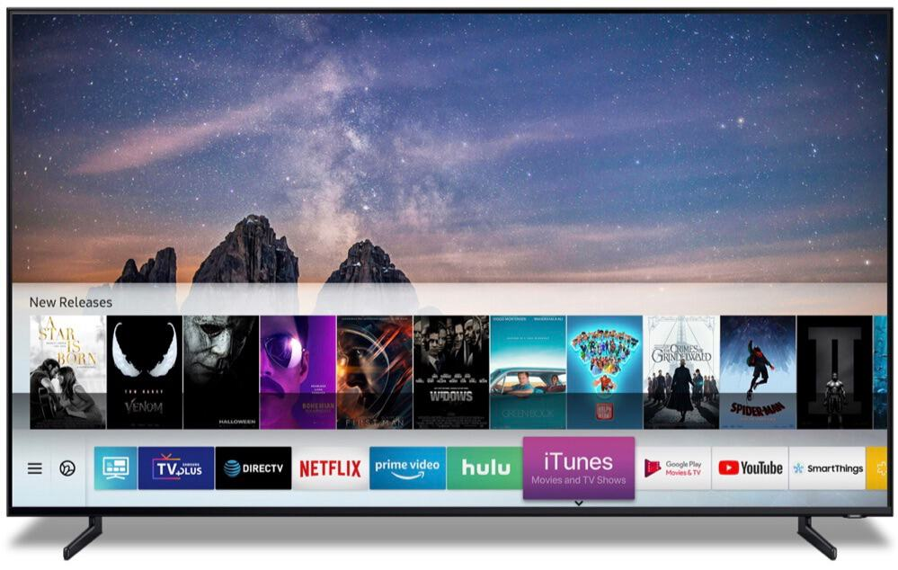 iTunes Smart TV Samsung